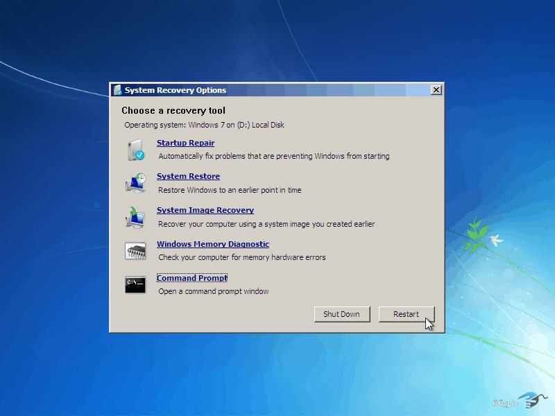 كيفية كسر واختراق كلمة السر لنظام التشغيل windows 7 بدون برامج 14