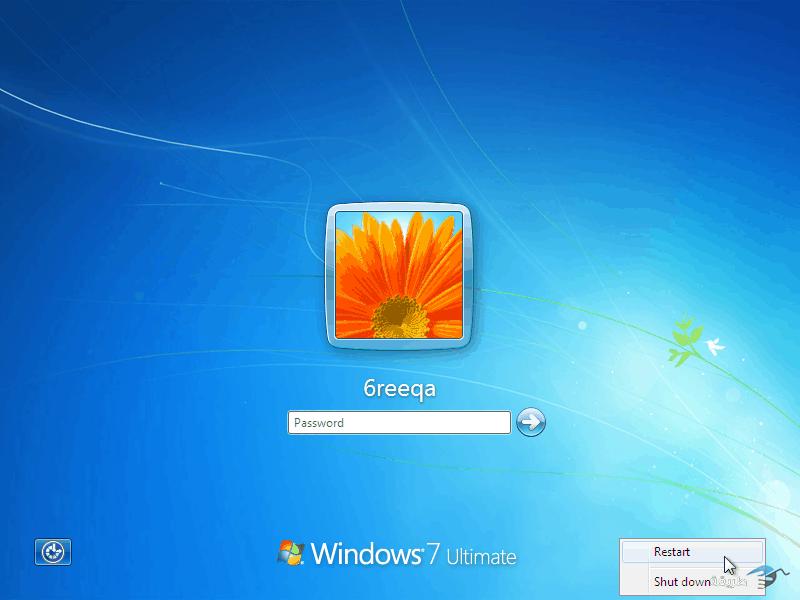كيفية كسر واختراق كلمة السر لنظام التشغيل windows 7 بدون برامج 3