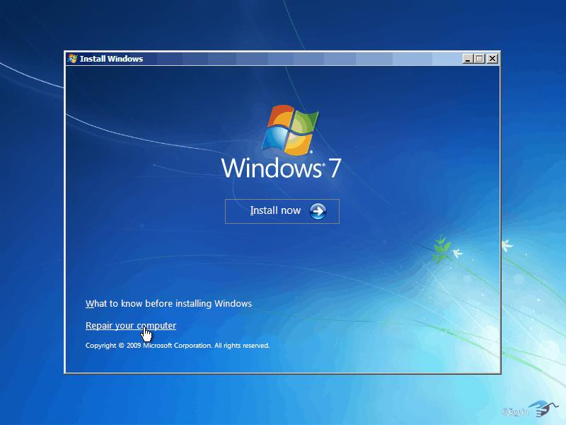 كيفية كسر واختراق كلمة السر لنظام التشغيل windows 7 بدون برامج 9