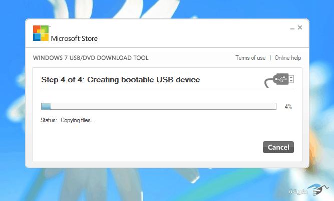 تثبيت ويندوز من usb