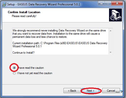 طريقة استعادة الملفات المحذوفة نتيجة 71.png