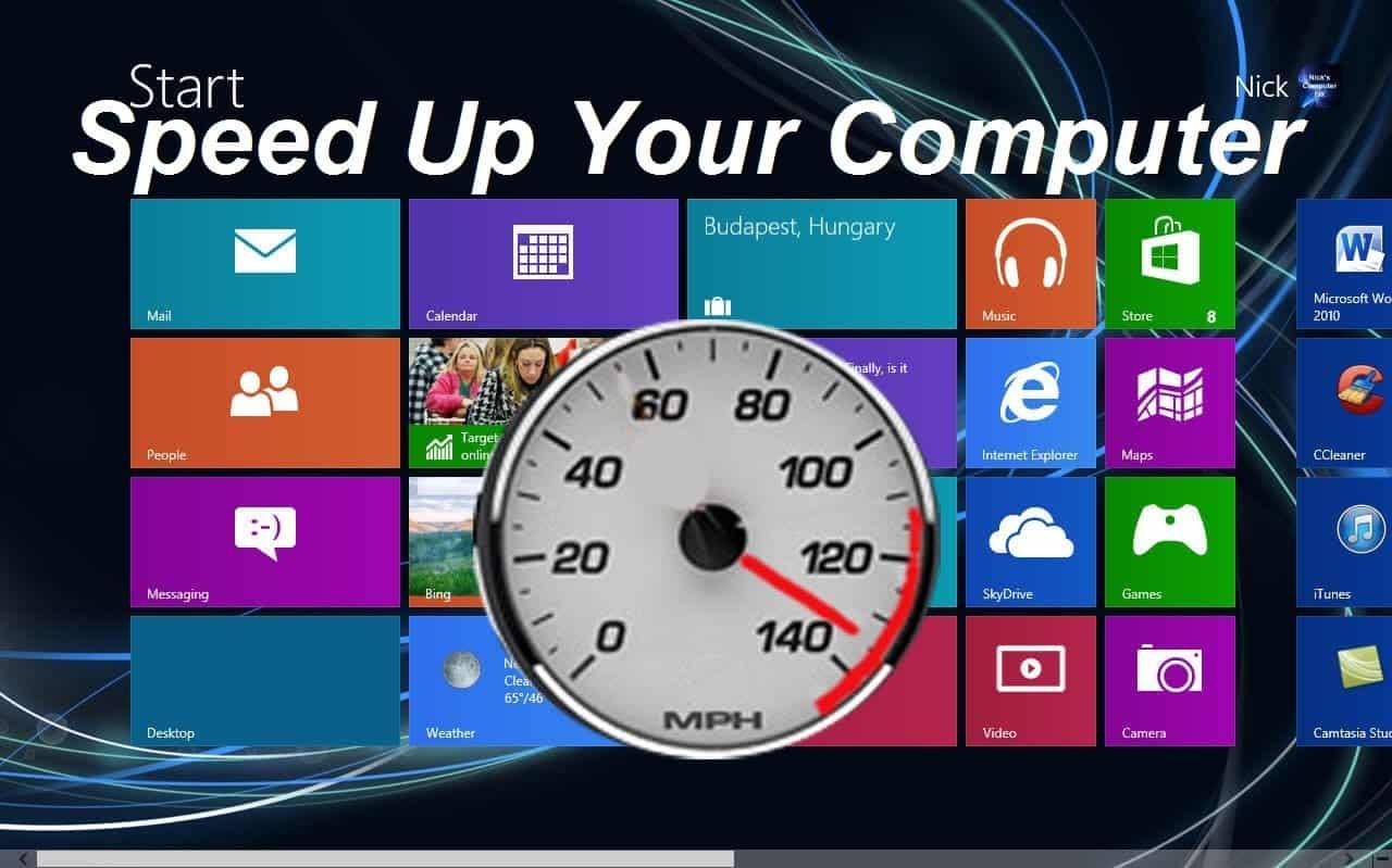3 طرق لجعل جهاز الكمبيوتر سريع بشكل فعّال
