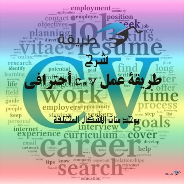 طريقة عمل cv يجعلك تقبل في أي عمل وتختار من بين ألاف الc.v