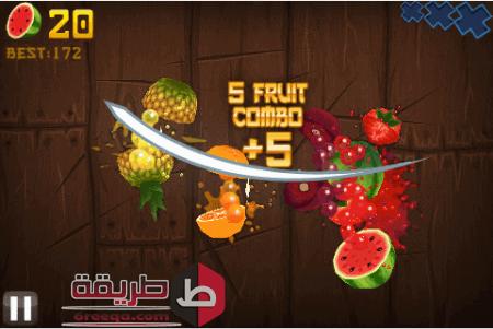 تحميل لعبة fruit ninja frenzy للكمبيوتر