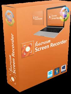 برنامج تصوير الشاشة بالصوت والصورة Icecream Screen Recorder