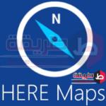 تحميل برنامج خرائط الموبايل 2018 Here Maps خرايط هير مابس للايفون و الاندرويد