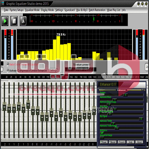تحميل برنامج المؤثرات الصوتية Graphic Equalizer Studio