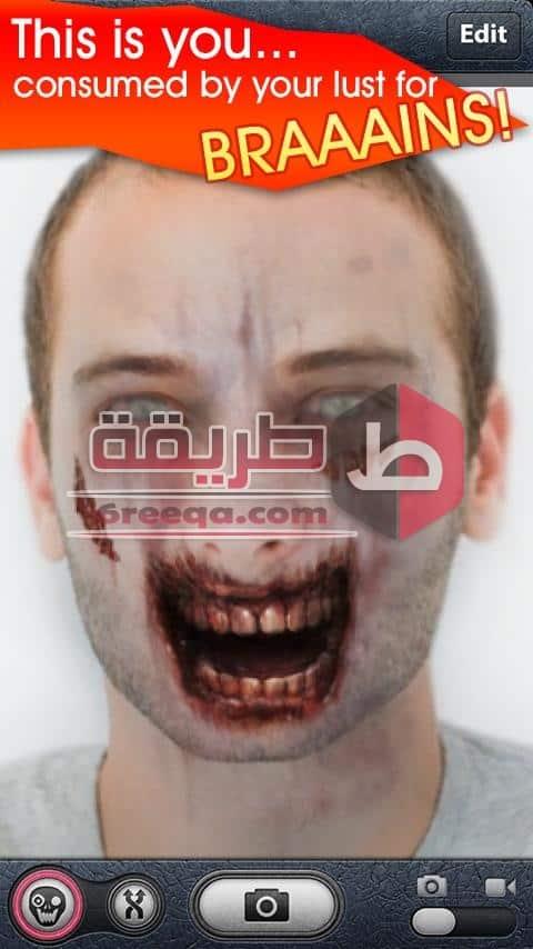 تطبيق ZombieBooth