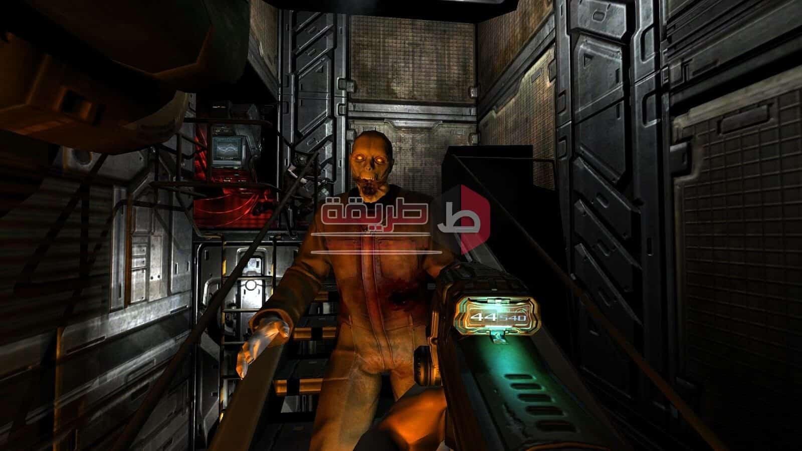 لعبة doom 3 للكمبيوتر