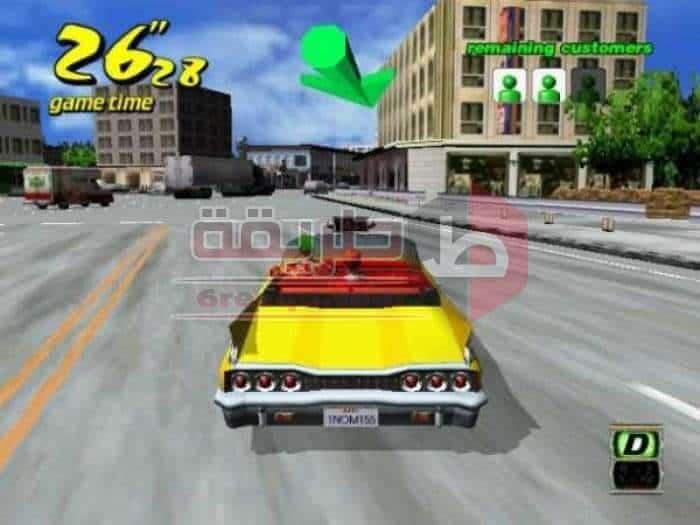 Crazy Taxi لعبة