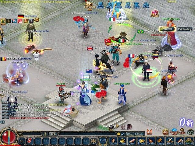 صورة لعبة كونكر تهيس يظهر بها بعض اللاعبين