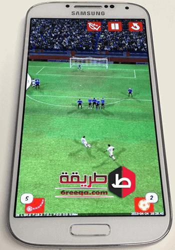 كيف تلعب لعبة كرة القدم العالمية للموبايل سكور هيرو؟
