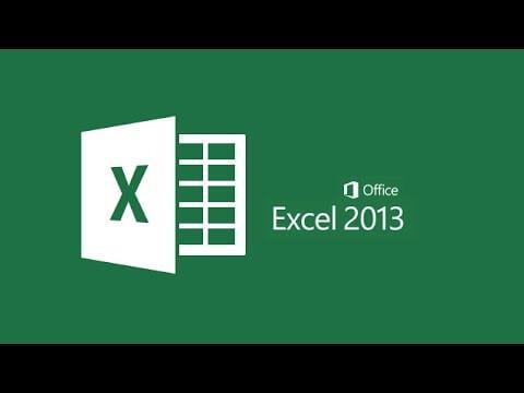 تحميل برنامج excel 2013