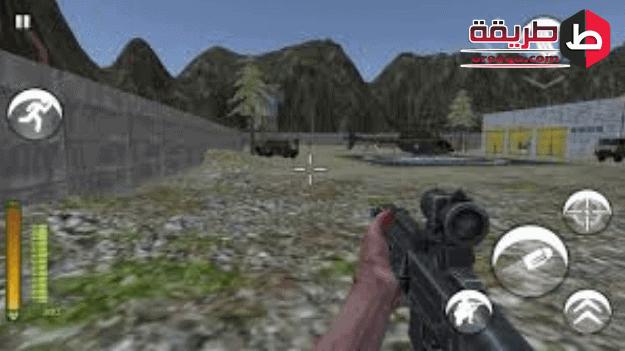 مشهد من مشاهد المطاردة في لعبة اي جي 5