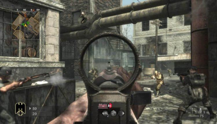 صوره لسلاح القناص داخل لعبة كول اوف ديوتي ور