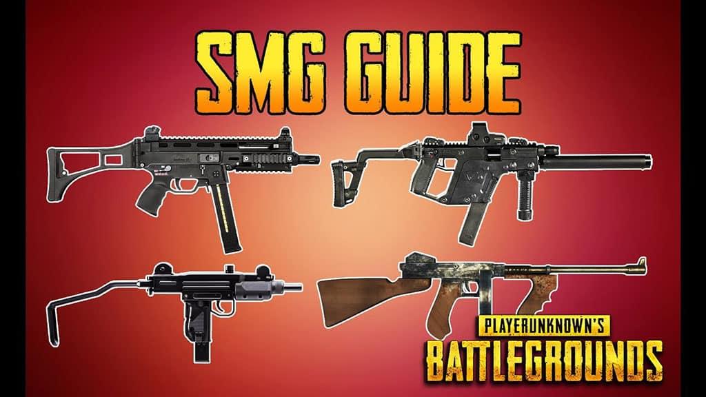 أسلحة smg ببجي