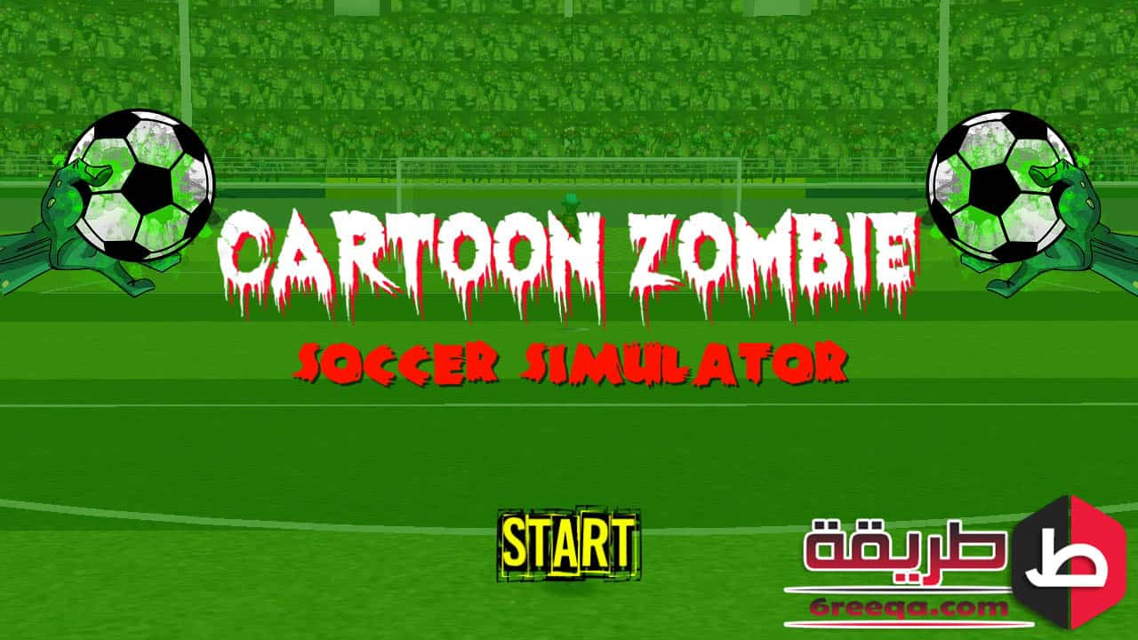 Cartoon Zombie Soccer