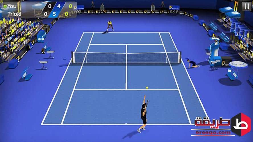 Tennis chiquenaude 3D