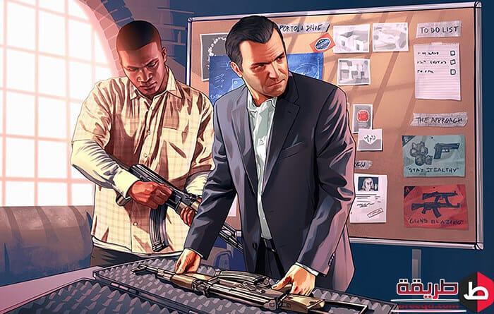 تحميل لعبة GTA 5
