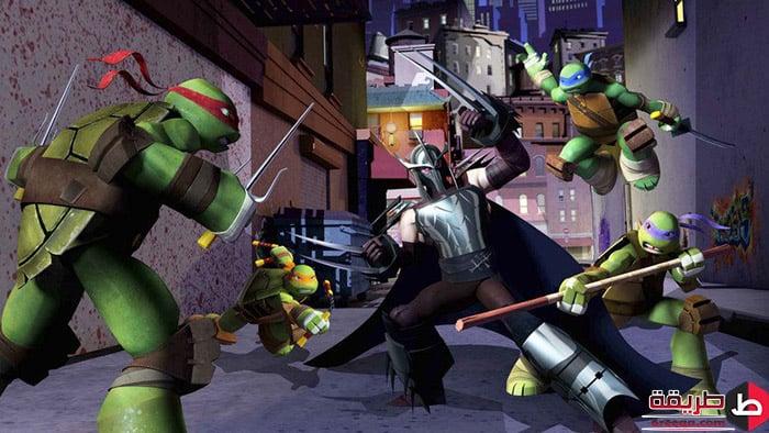 تحميل لعبة Ninja Turtles 4