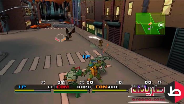 تحميل لعبة 3 Ninja Turtles للكمبيوتر