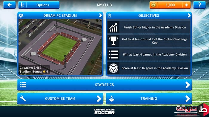 تنزيل لعبة Dream League Soccer 2019