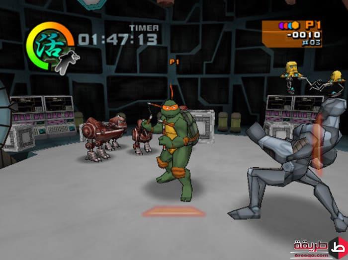 تنزيل لعبة Ninja Turtles 2