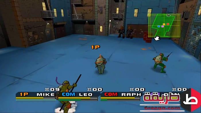 تنزيل لعبة Ninja Turtles 3