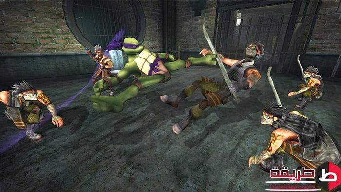 تنزيل لعبة Ninja Turtles 4