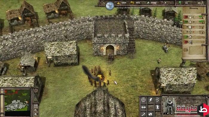 تنزيل لعبة Stronghold Crushed 3