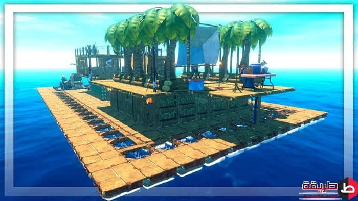 تحميل لعبة Raft للكمبيوتر