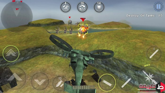 تنزيل لعبة Gunship Battle