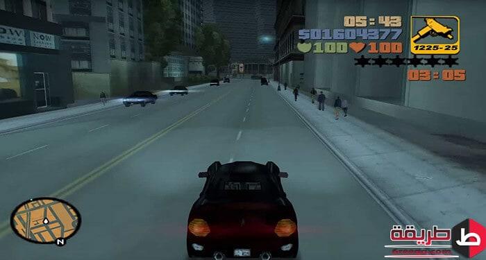 شفرات لعبة GTA 3