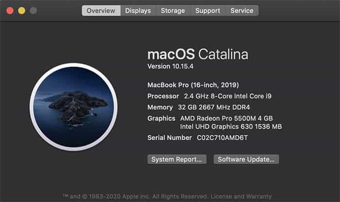 التأكد من توافق اللعبة مع نظام Mac