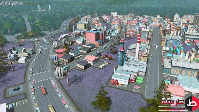 لعبة Cities Skylines