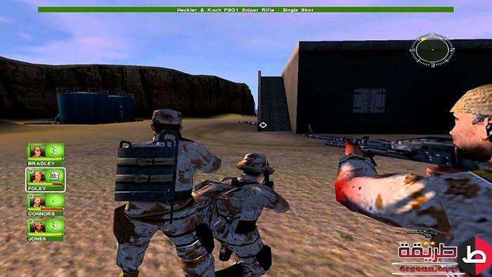 تحميل لعبة Conflict Desert Storm 3 للكمبيوتر