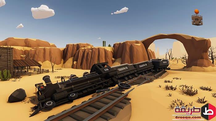 تحميل لعبة Desert skies