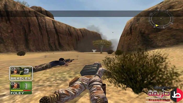 تحميل لعبه Conflict Desert Storm 1 للكمبيوتر