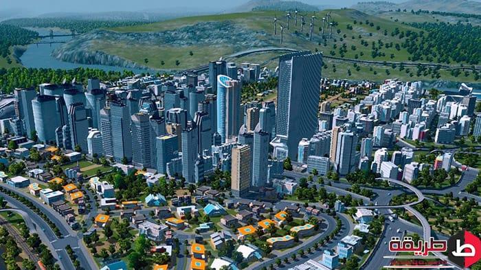 تحميل لعبة Cities Skylines للكمبيوتر