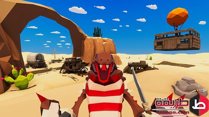 تنزيل لعبه Desert skies