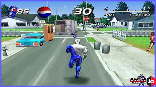 تحميل لعبة PepsiMan للكمبيوتر