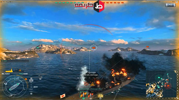 تنزيل لعبة World of Warships للكمبيوتر