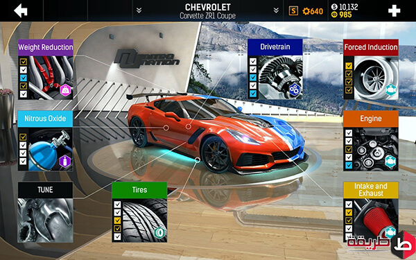 تحميل لعبة Nitro Nation Drag & Drift Car Racing للأندرويد